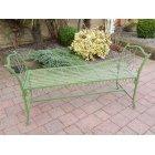 Green Garden Bench Seat