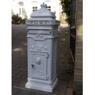 White Post Box / Free Standing Mailbox