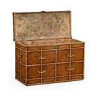 Jonathan Charles Furniture Travel Trunk Style Large Chest of Drawers