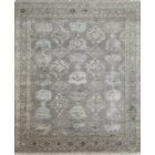 Jenny Jones Rugs Designer Rug Empress, Soft Grey, Wool & Silk