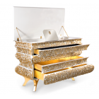 Boca Do Lobo Furniture Crochet Luxury Chest of Drawers/Jewelry Drawers