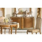 AM Classic Furniture French Sideboard With 2 Doors Solid Wood