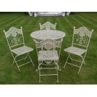 Cream 4 Seater Dining Set/Patio Set