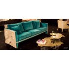 Boca Do Lobo Furniture Luxury Versailles Sofa/Designer Sofa, Teal Blue