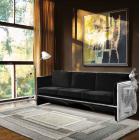 Boca Do Lobo Furniture Luxury Versailles Sofa/Designer Sofa, Black