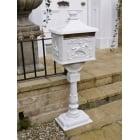 Post Box/Letter Box/White, Aluminium