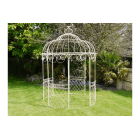 Cream Iron Gazebo