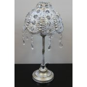 Elegant Buffet Lamp/Metal Shade Table Lamp