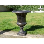 Outdoor Bronze Finish Planter Urn