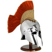 Officers Plumed Corinthian Helm/Troy Helmet