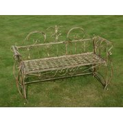 Outdoor Bench In Vintage Style