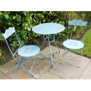 Blue 2 Seater Bistro Set / Patio Set