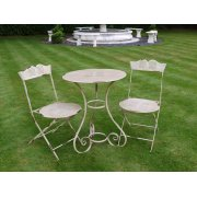 Grey 2 Seater Bistro Set / Patio Set