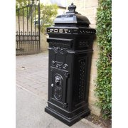 Black Mailbox / Lockable LetterBox