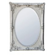 Shabby Chic Grey Mirror