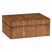 Jonathan Charles Furniture Zebrano Decorative Box