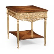 Jonathan Charles Furniture Side Table, Gilded/French Furniture