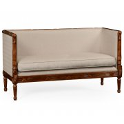 Jonathan Charles Furniture French Upholstered Settee, Sofa