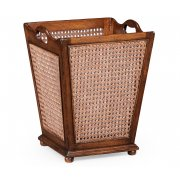 Jonathan Charles Furniture Cane Wastepaper Basket