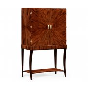 Jonathan Charles Furniture Art Deco Drinks Cabinet, High Lustre