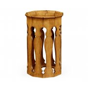 Jonathan Charles Furniture Small Moroccan Side Table, Birch