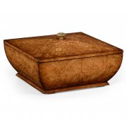 Jonathan Charles Furniture Designer Walnut Square Box