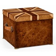 Jonathan Charles Furniture Union Jack Storage Box