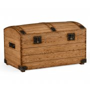 Jonathan Charles Furniture Handmade Oak Trunk, Storage Trunk