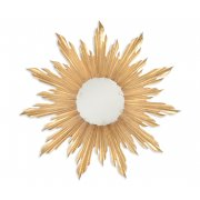 Jonathan Charles Furniture Designer Gold Sun Mirror