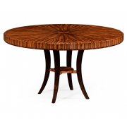 Jonathan Charles Furniture 6 Seater Art Deco Round Dining Table 54''
