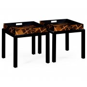 Jonathan Charles Furniture Tray Tables, Tartan/Butler Trays