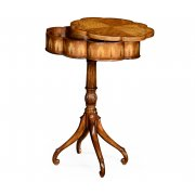 Jonathan Charles Furniture Lamp Table With Secret Compartment