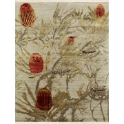 Jenny Jones Rugs Contemporary Designer Rug Banksia, Wool & Silk