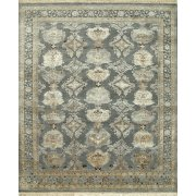 Jenny Jones Rugs Designer Rug Empress, Slate Blue, Wool & Silk