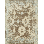 Jenny Jones Rugs Designer Rug Versailles, Taupe, Wool & Silk, French Style