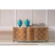 AM Classic Furniture Large Sideboard With 4 Drawers French Style