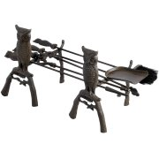 Cast Iron Fire Companion Set/Fire Tools