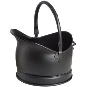 Large Black Coal Bucket