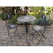 Bistro De Paris Two Chair Patio Furniture Set