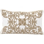 Embroidered Cushion, Rectangular / Designer Cushion