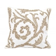 Gold Cushion, Embroidered / Designer Cushion