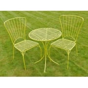 2 Seater Bistro Set / Green Patio Set