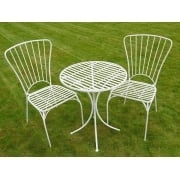 2 Seater Bistro Set / White Patio Set