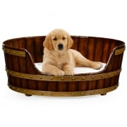 Jonathan Charles Furniture Luxury Dog Bed, Large Size 32''