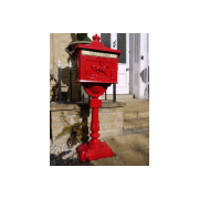 Post Box/Red Letter Box, Aluminium