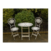 Cream 2 Seater Bistro Set/Patio Set