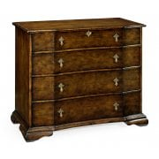 Jonathan Charles Furniture Large Walnut Chest Of Drawers