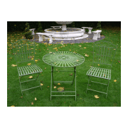 Green 2 Seater Bistro Set / Patio Set
