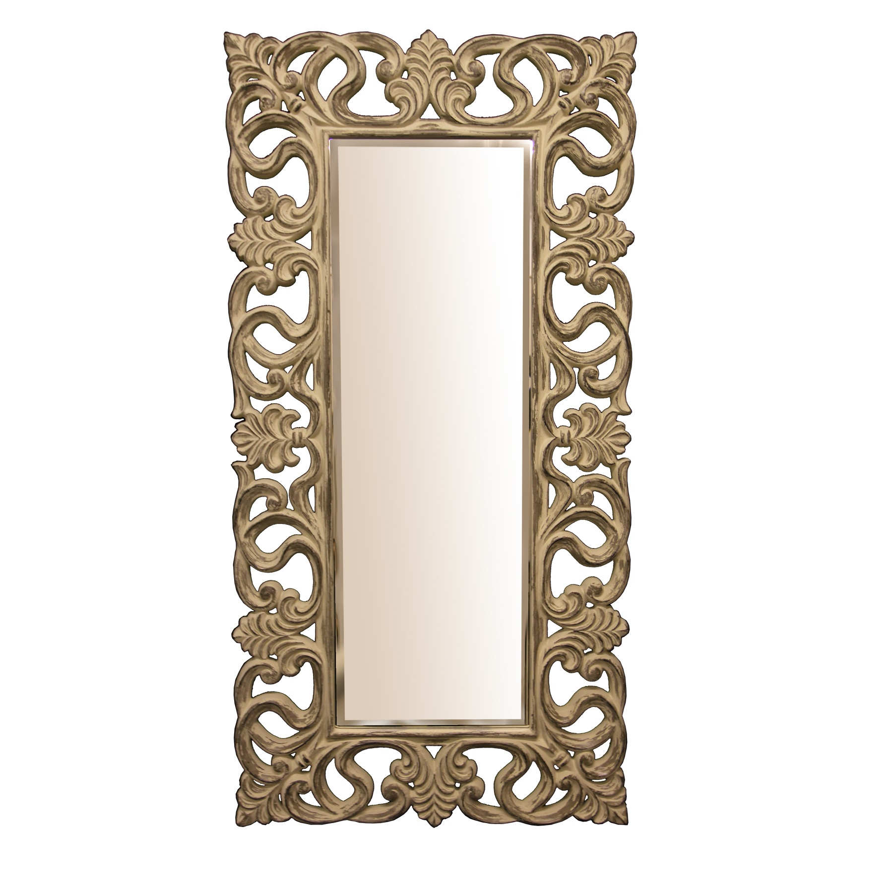Greatest Full Length Mirror, Shabby Chic | Swanky Interiors LJ26