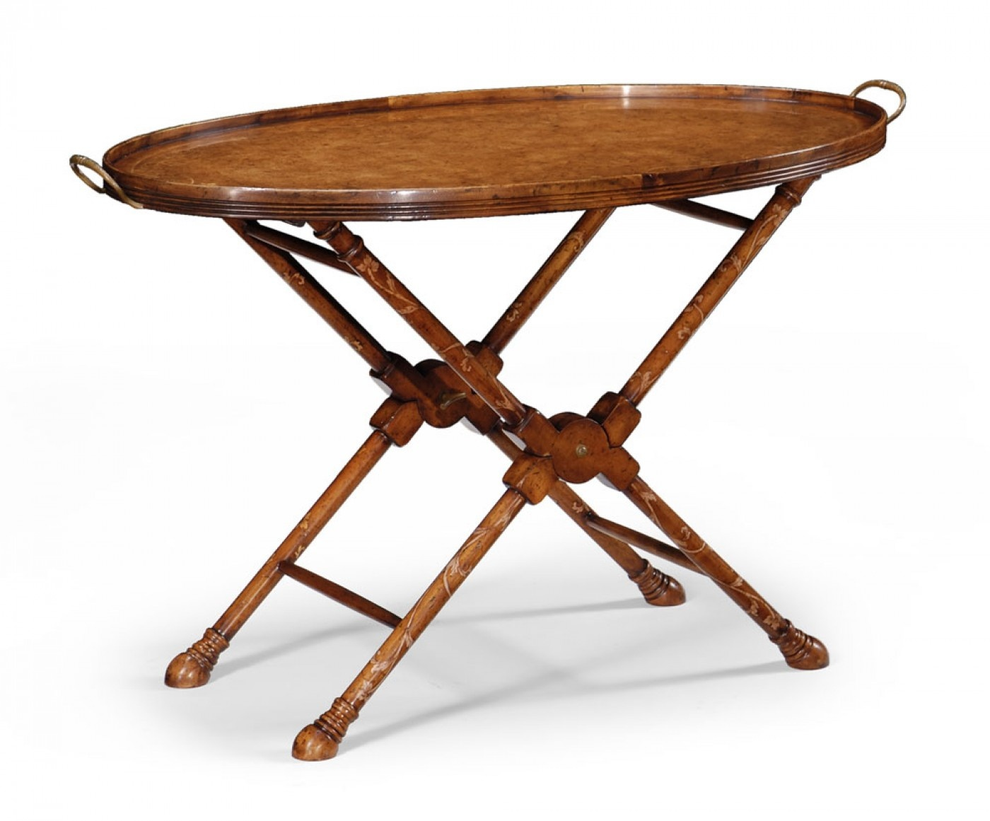 walnut tray table butler tray swanky interiors. Black Bedroom Furniture Sets. Home Design Ideas